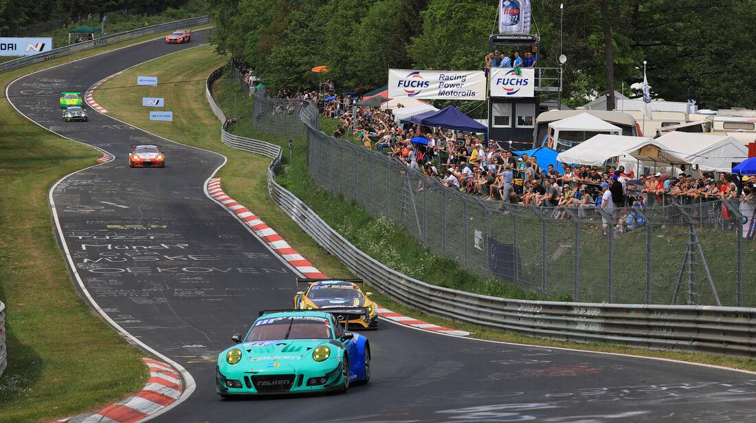 Porsche 911 GT3 R - Startnummer #44 - 24h-Rennen Nürburgring - Nordschleife - Samstag - 12.5.2018