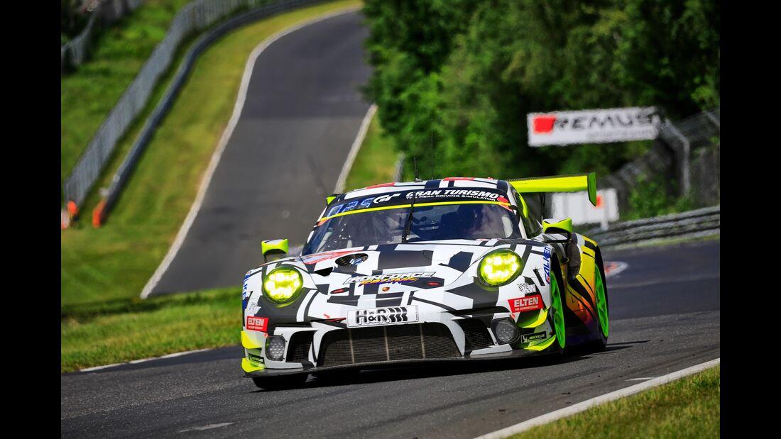 Porsche 911 GT3 R - Startnummer #8 - 24h Rennen Nürburgring - 21. Juni 2019