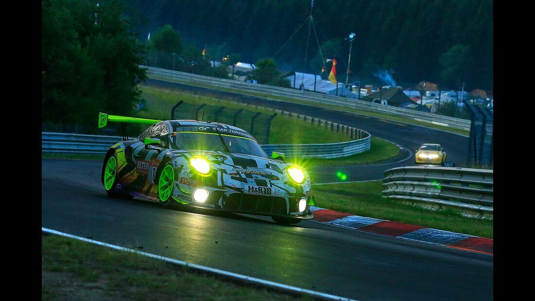 Porsche 911 GT3 R - Startnummer #8 - 24h Rennen Nürburgring - Nürburgring-Nordschleife - 23. Juni 2019