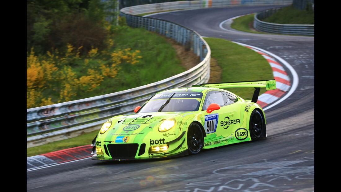 Porsche 911 GT3 R - Startnummer #911 - 24h-Rennen Nürburgring 2017 - Nordschleife