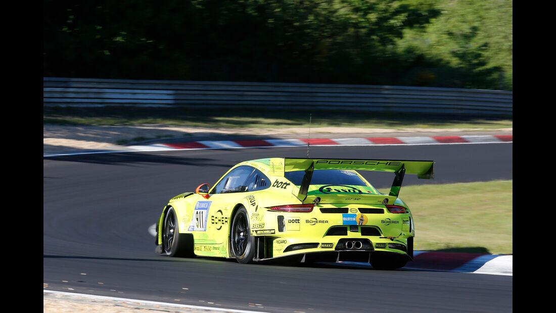 Porsche 911 GT3 R - Startnummer #911 - 24h-Rennen Nürburgring 2017 - Nordschleife - Samstag - 27.5.2017