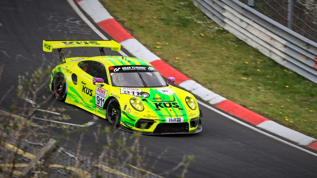 Porsche 911 GT3 R - Startnummer #911 - Manthey Racing - SP9 Pro - NLS 2021 - Langstreckenmeisterschaft - Nürburgring - Nordschleife