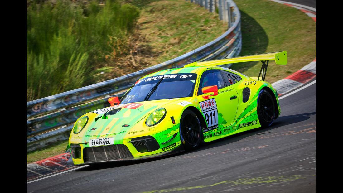Porsche 911 GT3 R - Startnummer #911 - Manthey Racing - SP9 Pro - VLN 2019 - Langstreckenmeisterschaft - Nürburgring - Nordschleife