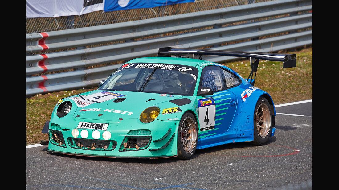Porsche 911 GT3 R - VLN - Nürburgring Nordschleife - 29. März 2014