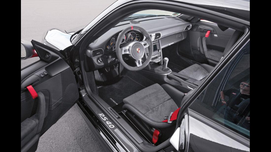 Porsche 911 GT3 RS 4.0, Cockpit, Fahrertür