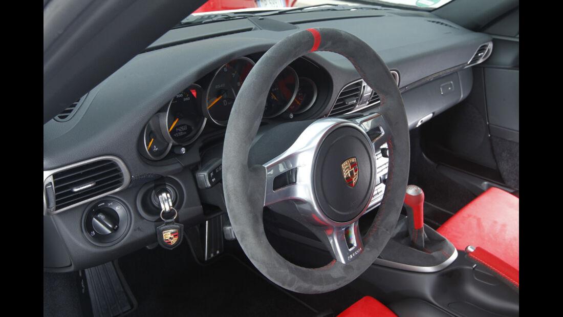 Porsche 911 GT3 RS 4.0, Cockpit, Lenkrad