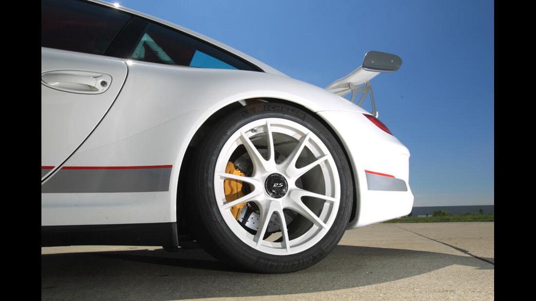Porsche 911 GT3 RS 4.0, Felge, Rad, Heckspoiler