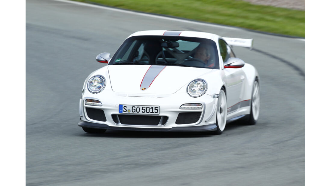 Porsche 911 GT3 RS 4.0, Front, Kurve