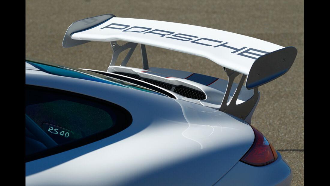 Porsche 911 GT3 RS 4.0, Heckspoiler