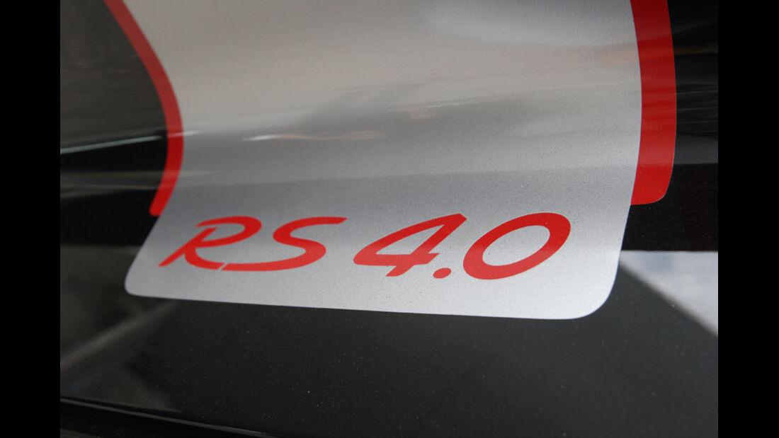 Porsche 911 GT3 RS 4.0, RS 4.0, Schriftzug, Emblem