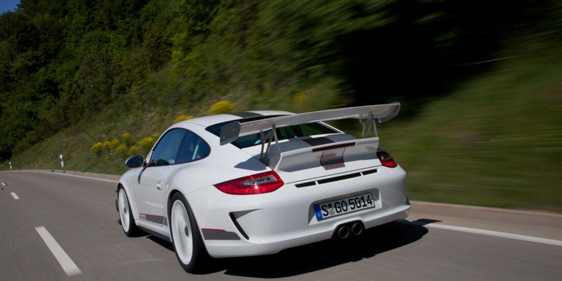 Porsche 911 GT3 RS 4.0, Rückansicht, Heck
