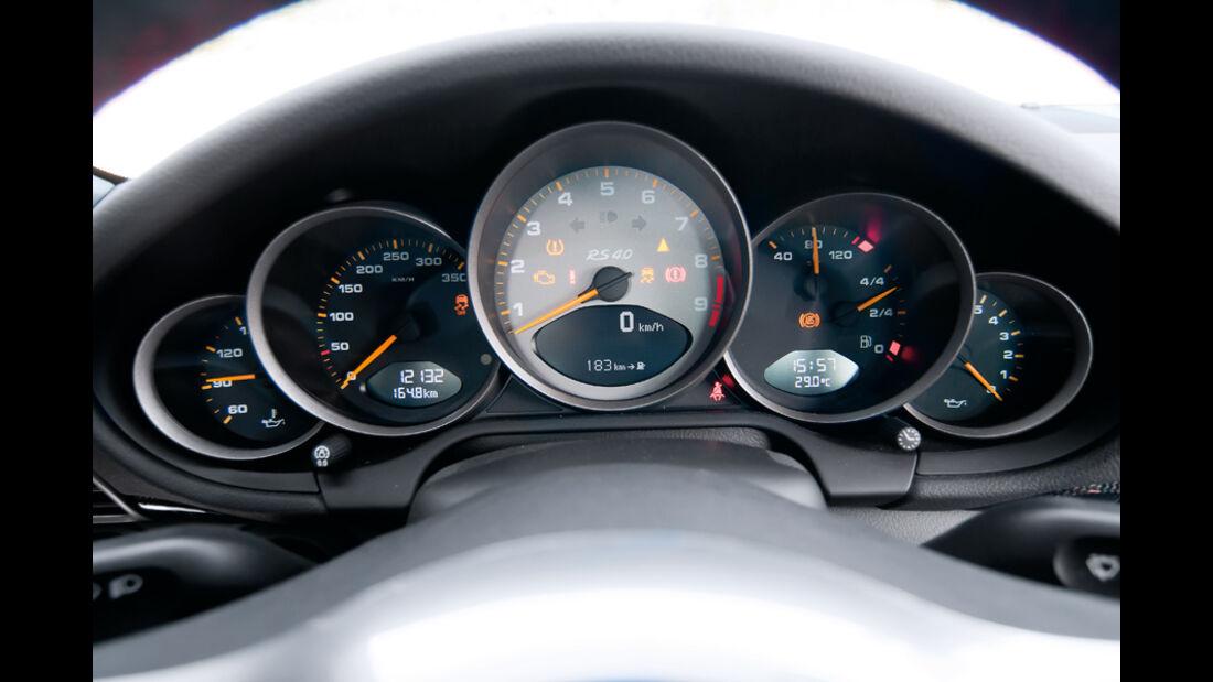 Porsche 911 GT3 RS 4.0, Rundinstrumente