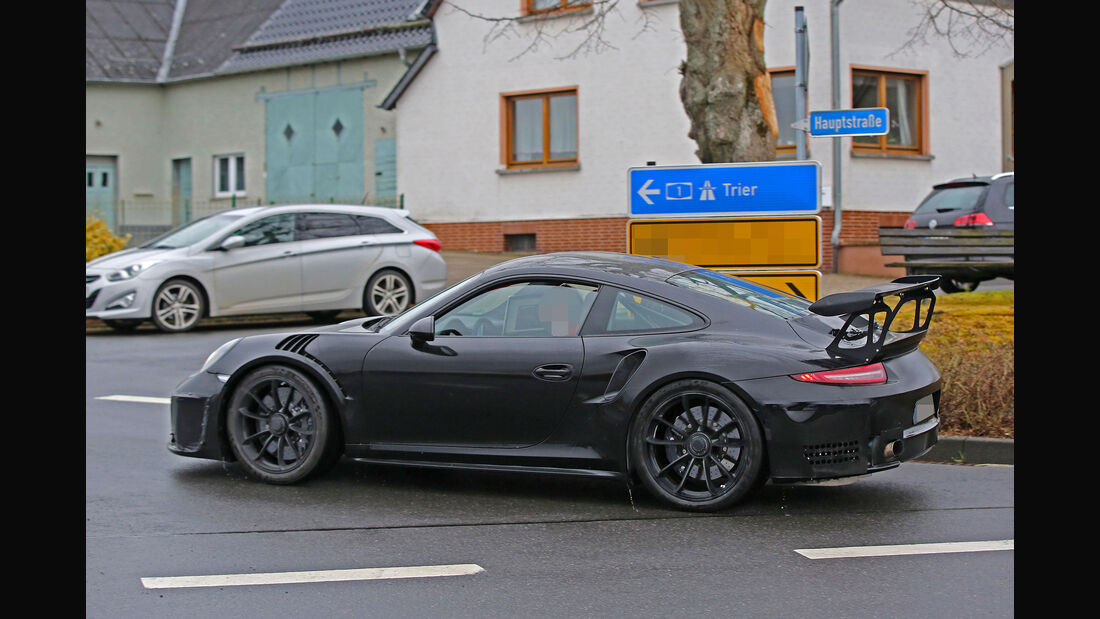 Porsche 911 GT3 RS 4.2 Erlkönig