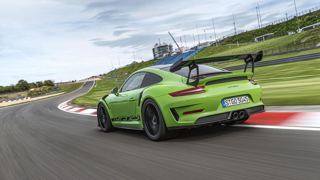 Porsche 911 Gt3 Rs Im Einzeltest Auto Motor Und Sport