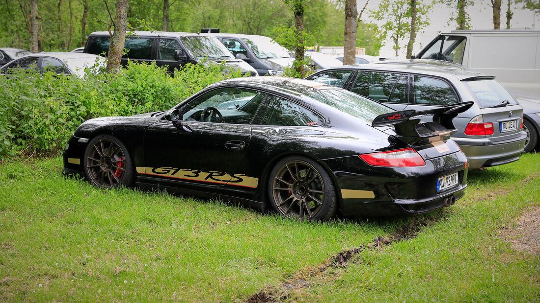 Porsche 911 GT3 RS - Fanautos - 24h Rennen Nürburgring - Nürburgring-Nordschleife - 4. Juni 2021