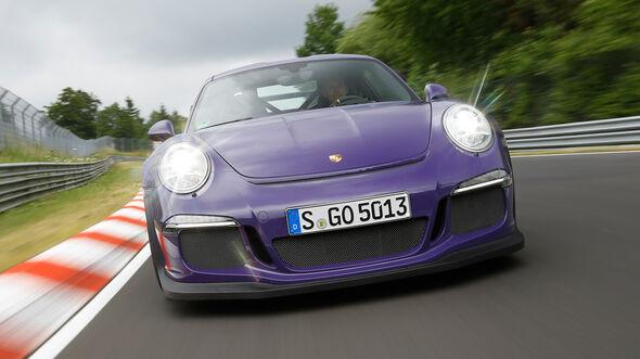 Porsche 911 GT3 RS, Frontansicht