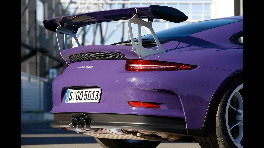 Porsche 911 GT3 RS, Heckspoiler