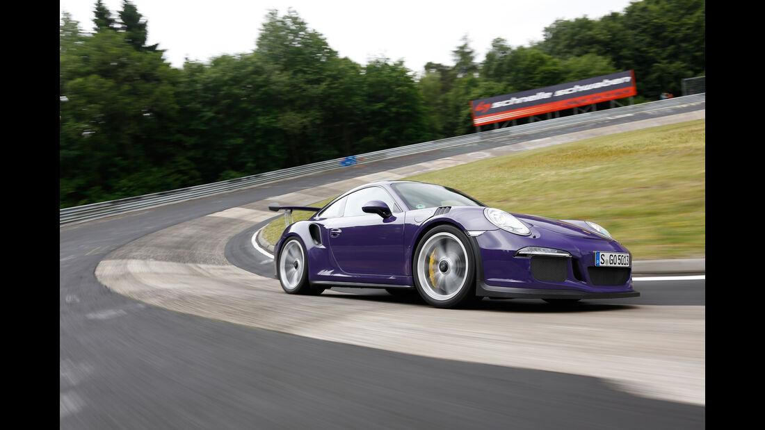 Porsche 911 GT3 RS, Seitenansicht