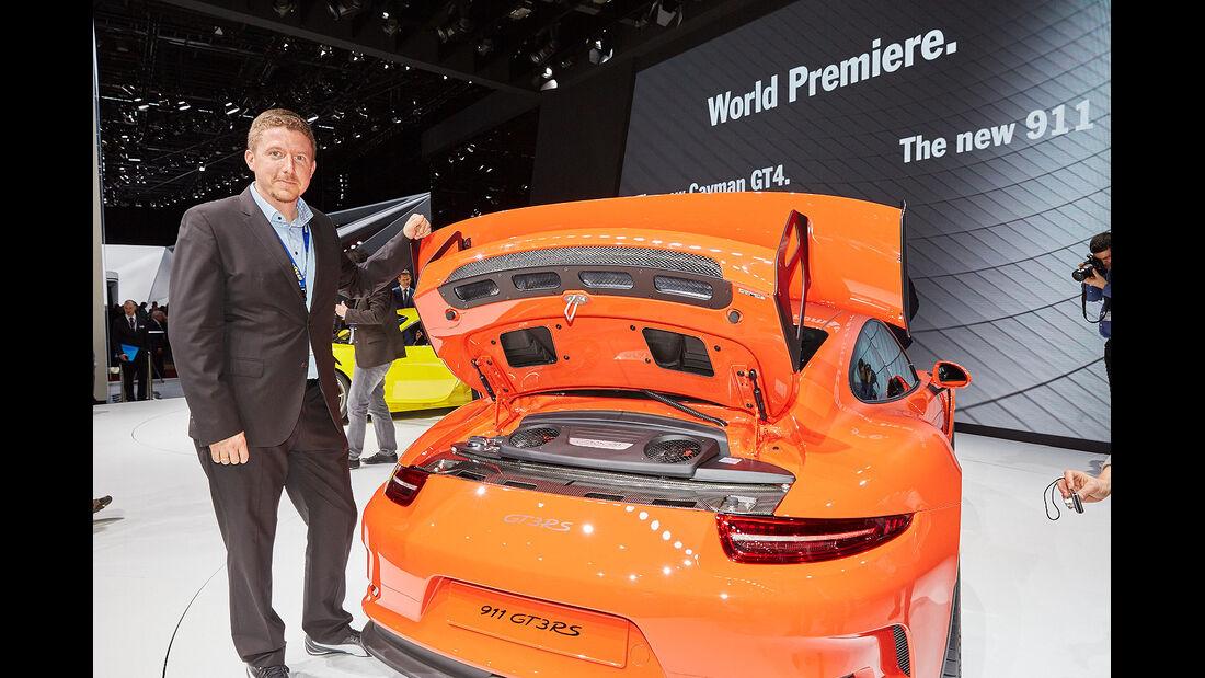 Porsche 911 GT3 RS Sitzprobe