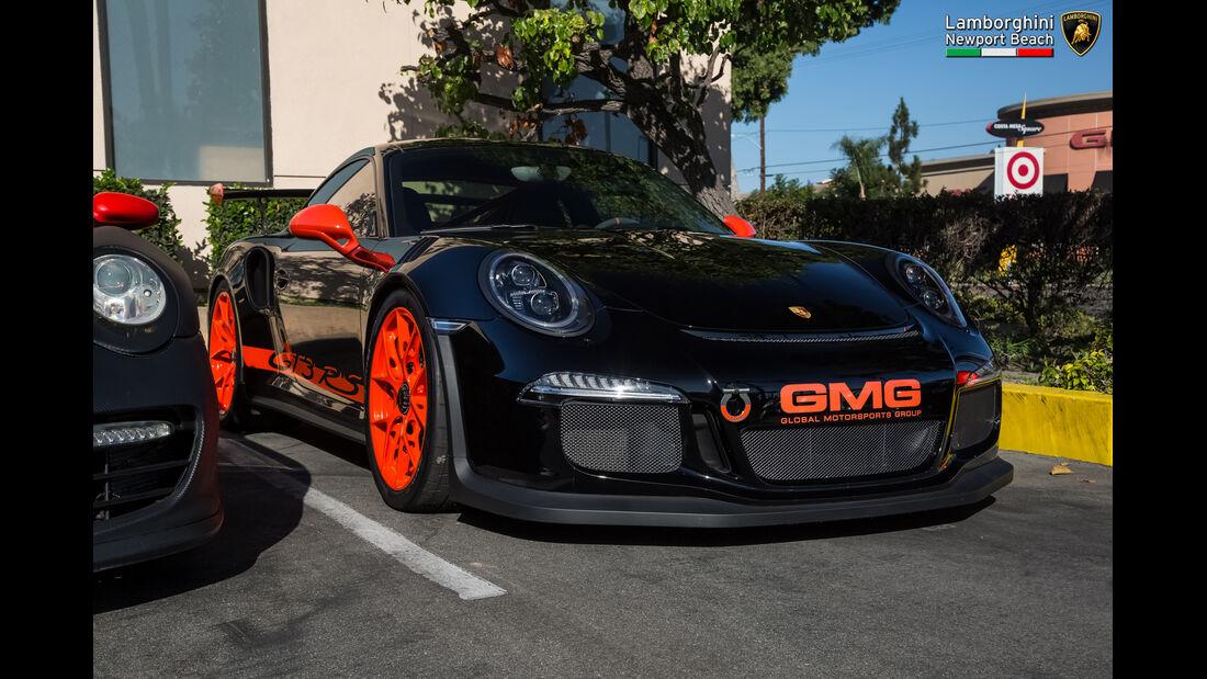 Porsche 911 GT3 RS - Supercar-Show - Newport Beach - Oktober 2016