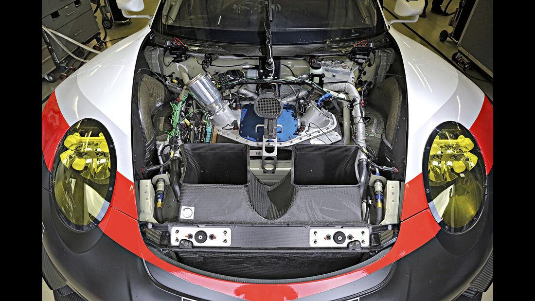 Porsche 911 GT3 RSR, Exterieur