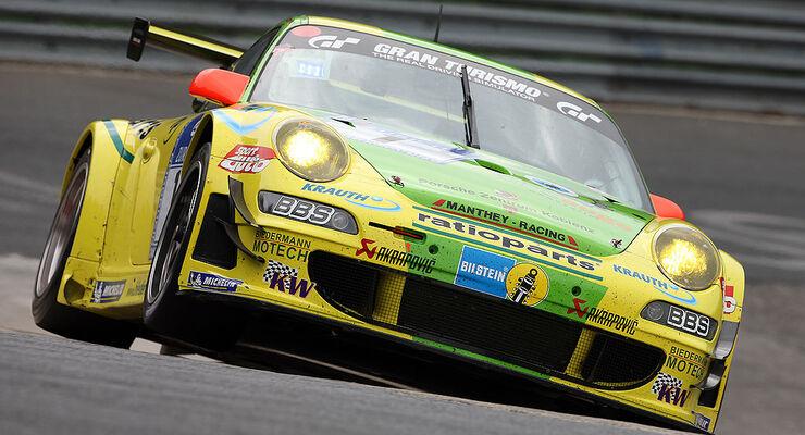 Porsche 911 GT3 RSR Manthey Racing Nürburgring VLN 2009