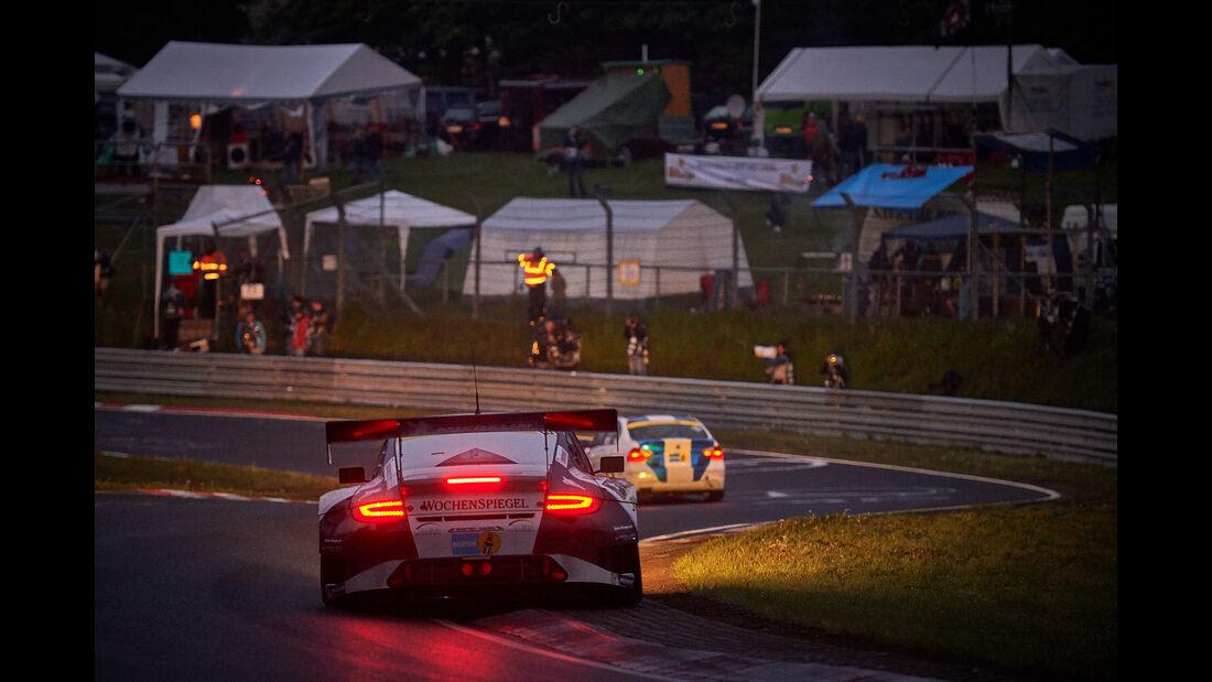 Porsche 911 GT3 RSR - Wochenspiegel Team Manthey - #10 - Georg Weiss, Oliver Kainz, Jochen Krumbach, Richard Lietz - 24h Nürburgring  - Donnerstag - 1. Qualifying - 14.5.2015