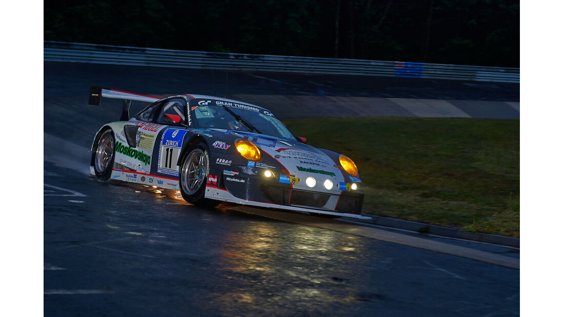 Porsche 911 GT3 RSR - Wochenspiegel Team Manthey - #11 - 24h-Rennen Nürburgring 2014 -  Qualifikation 1