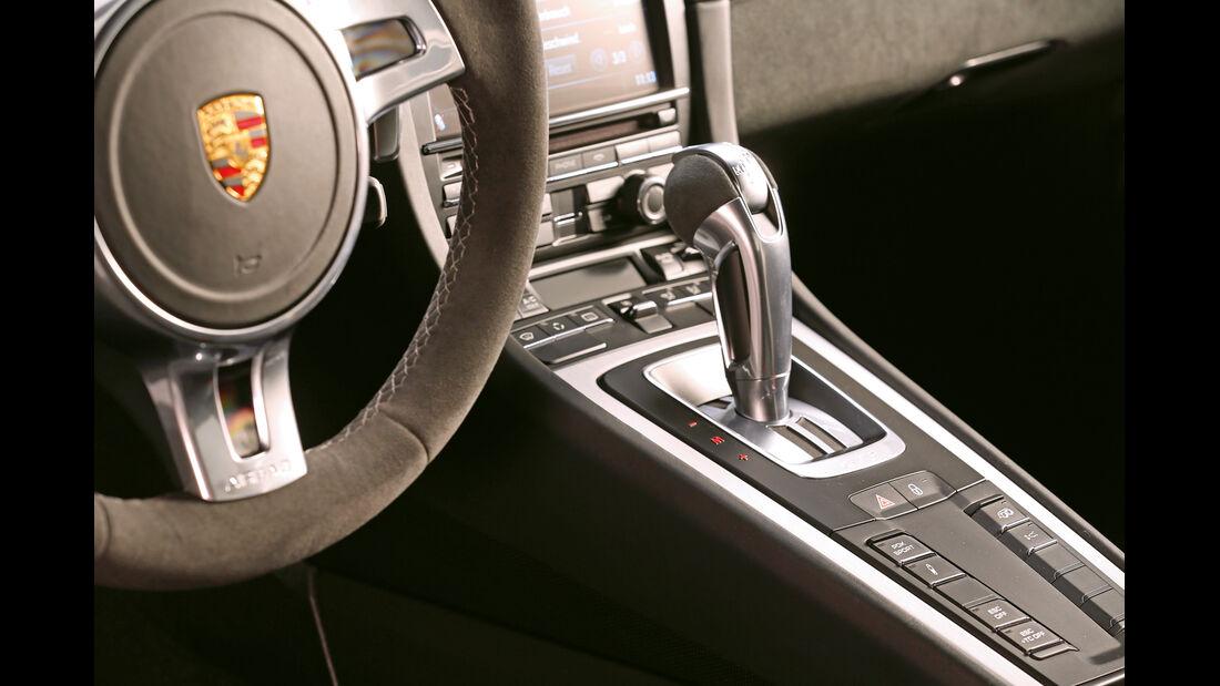 Porsche 911 GT3, Schalthebel, Schaltknauf