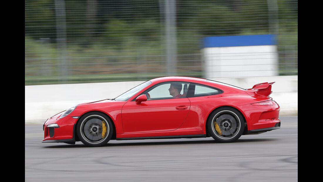 Porsche 911 GT3, Seitenansicht