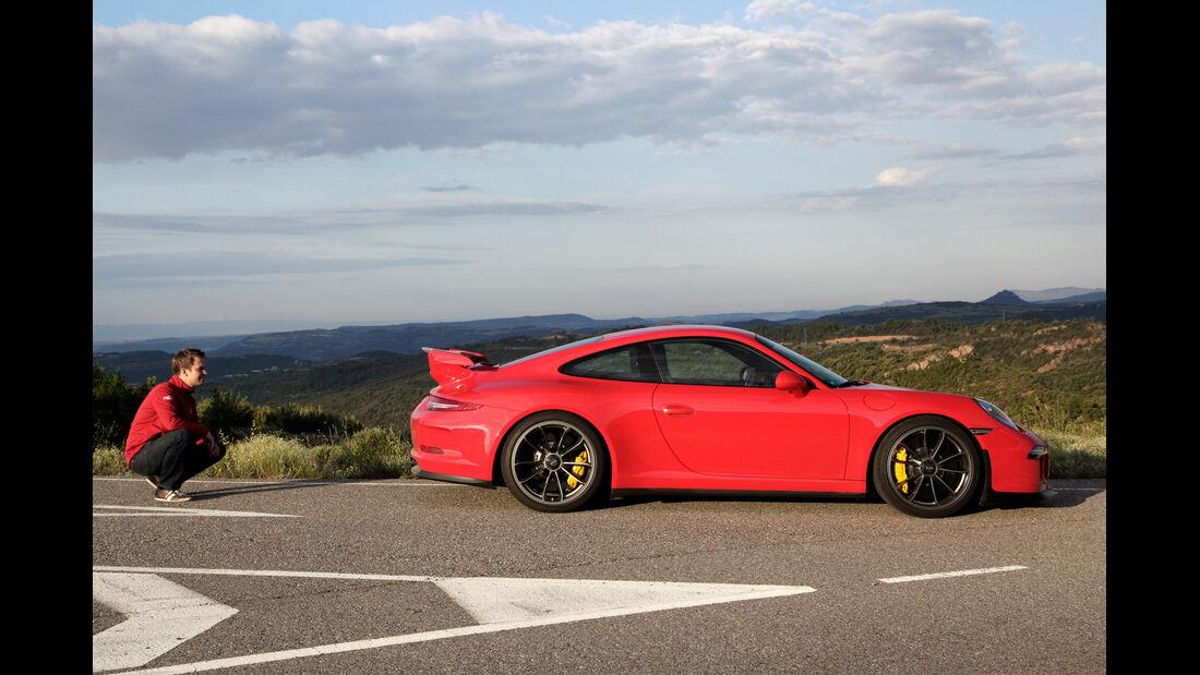 Porsche 911 GT3, Seitenansicht, Christian Gebhardt