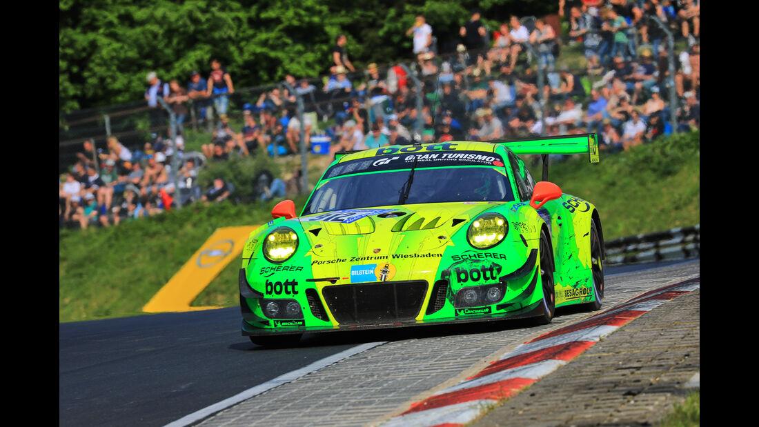 Porsche 911 GT3 - Startnummer #912 - 24h-Rennen Nürburgring 2018 - Nordschleife - Samstag 12.5.2018