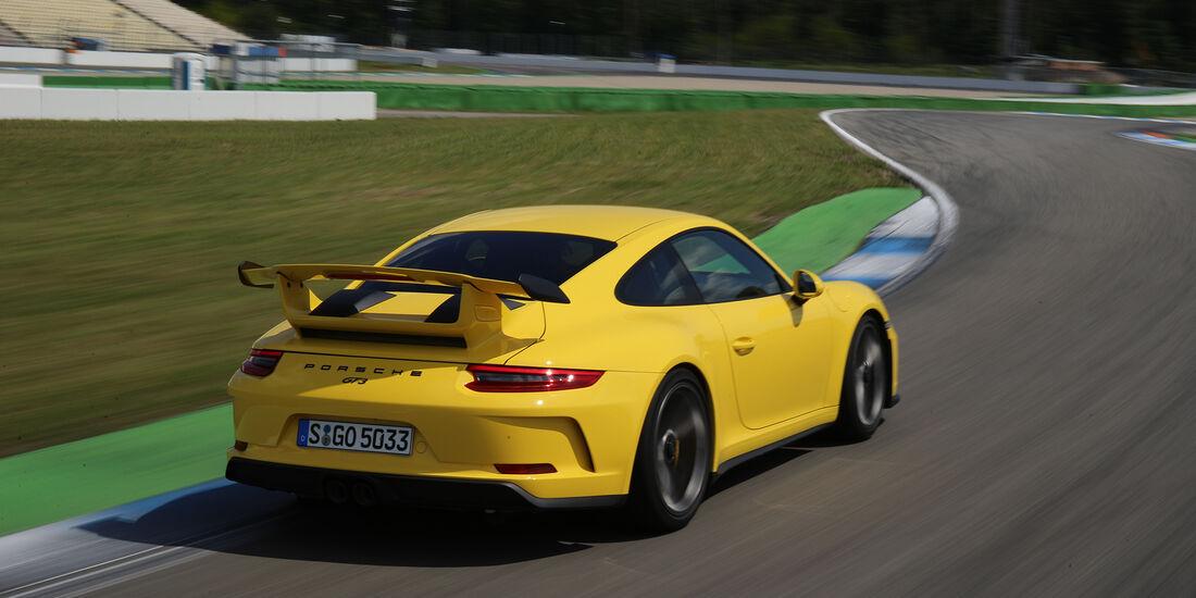 Porsche 911 GT3 Supertest Hockenheim