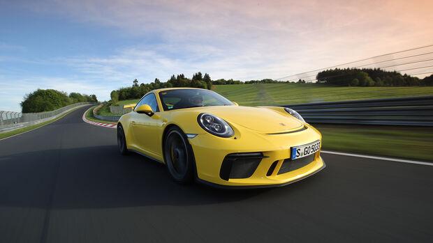 Porsche 911 GT3 Supertest Nordschleife