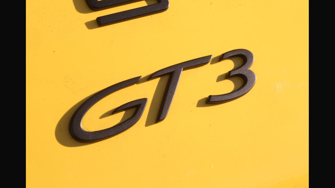 Porsche 911 GT3, Typenbezeichnung