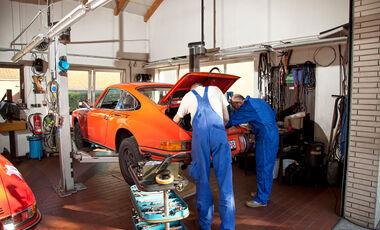 Porsche 911 , Hebebühne