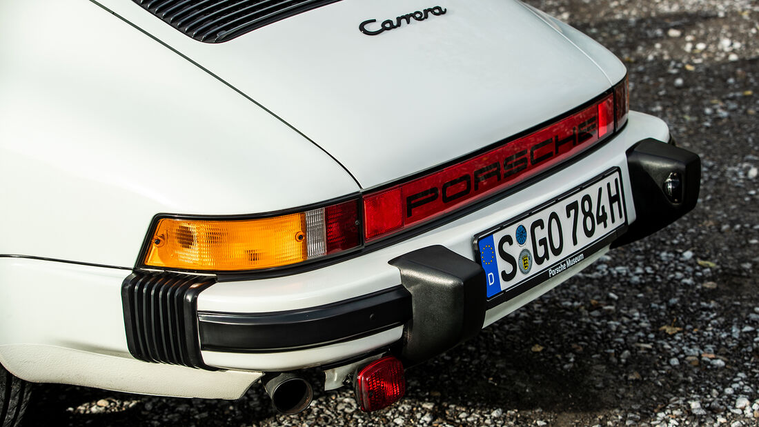 Porsche 911, Heck