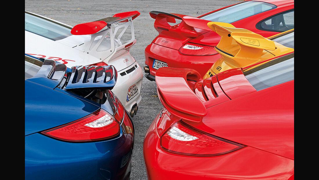Porsche 911, Heckflügel