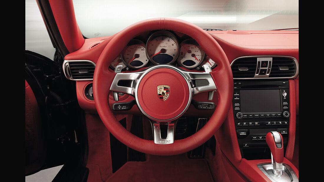 Porsche 911, Innenraum, Cockpit