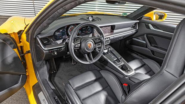 Porsche 911, Interieur