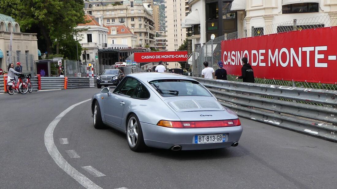 Porsche 911 - Luxusautos - Formel 1 - GP Monaco - 21. Mai 2021