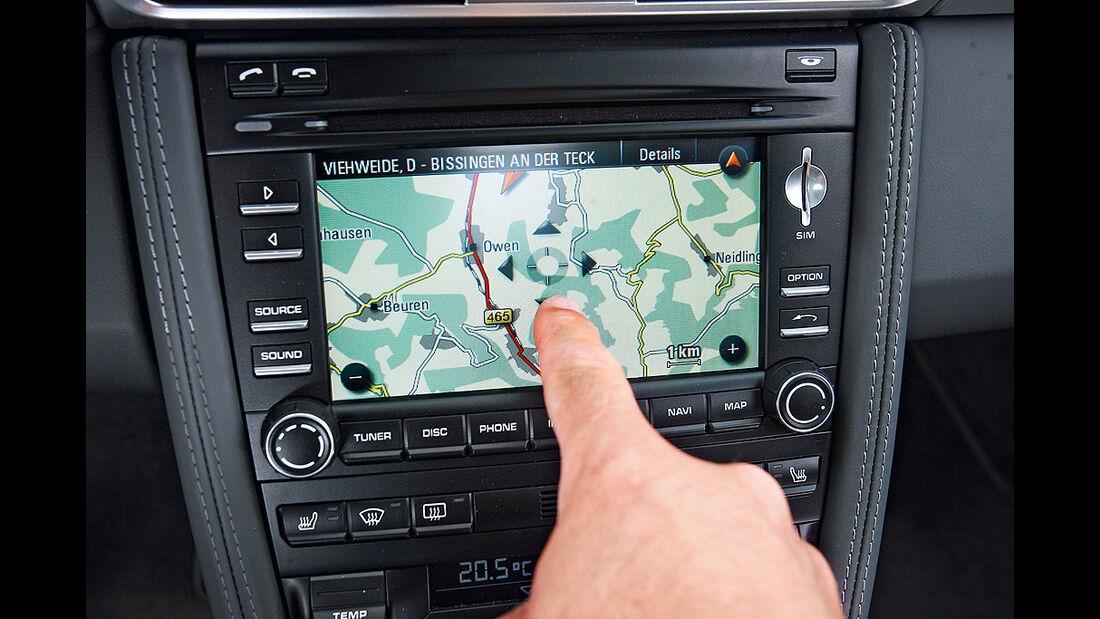 Porsche 911, Navigation