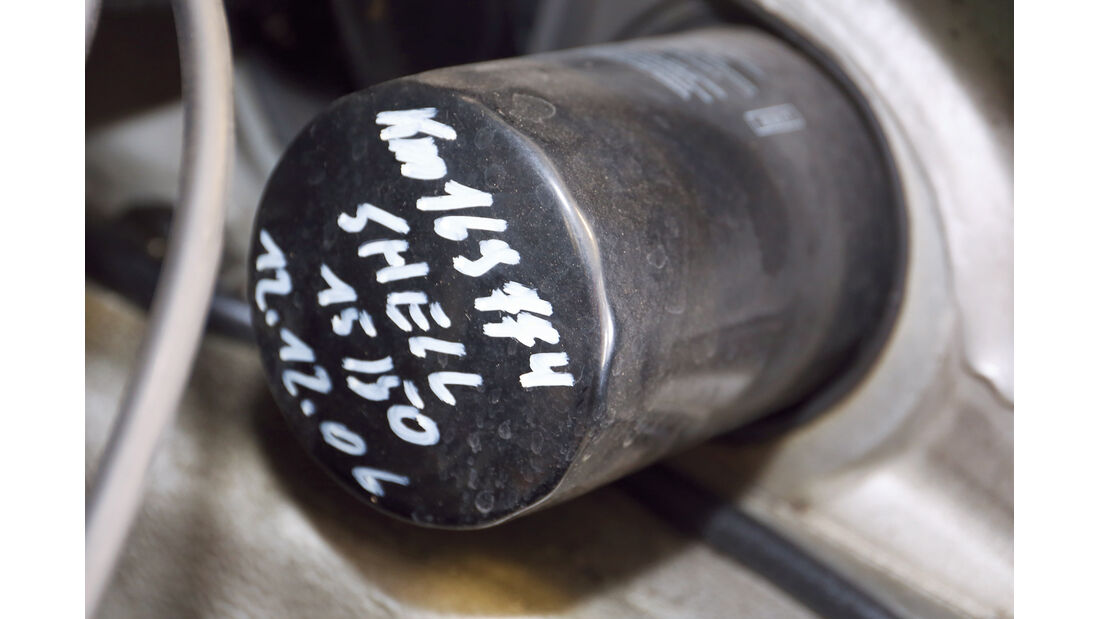 Porsche 911, Ölfilter