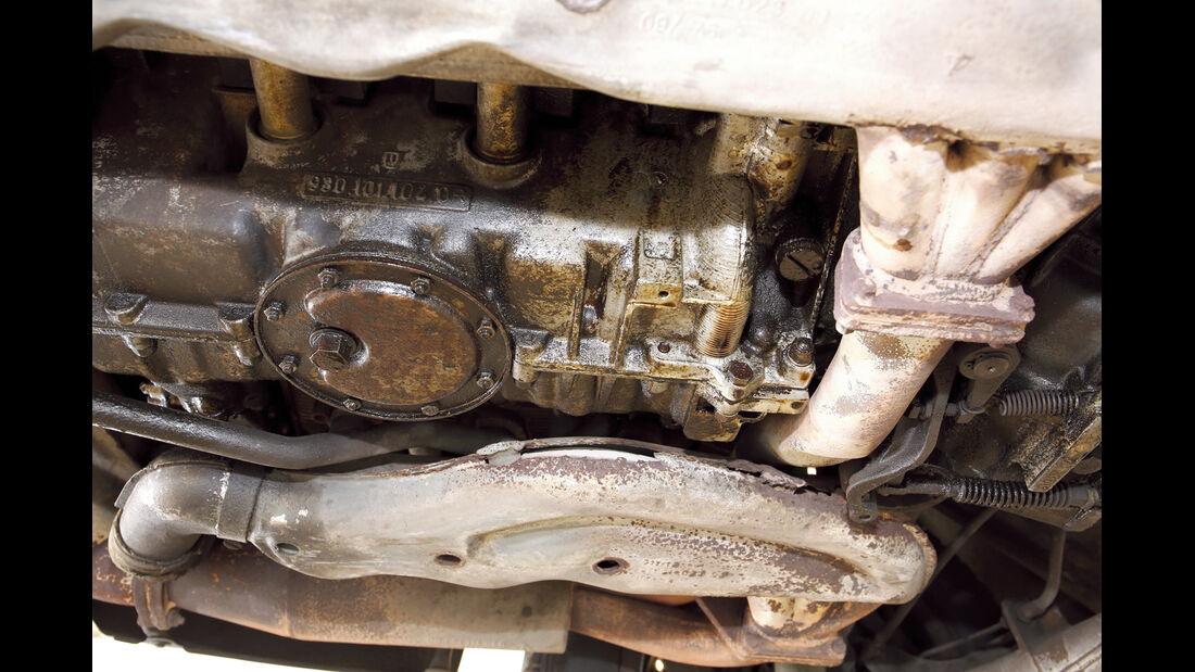 Porsche 911, Ölwechsel