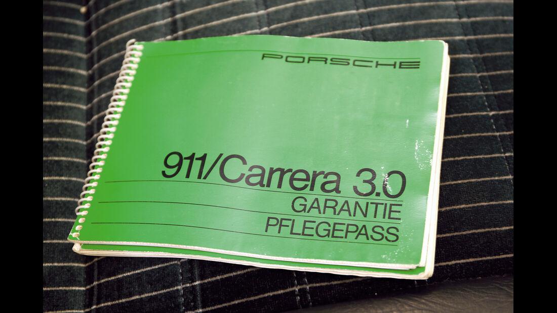 Porsche 911, Pflegepass