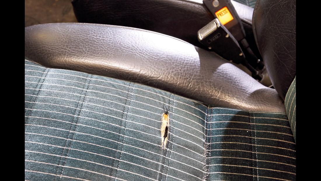 Porsche 911, Polster, Sitzkissen