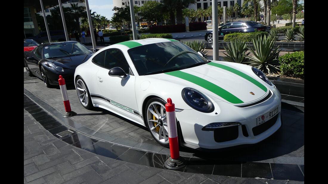 Porsche 911 R - Carspotting - Abu Dhabi 2017