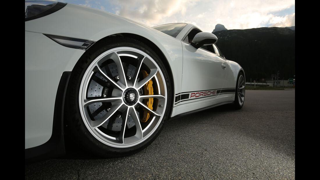 Porsche 911 R - Sportwagen - Sechsganghandschaltung - Saugmotor - Boxer - Test