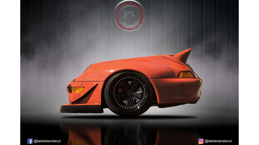 Porsche 911 RS Retusche