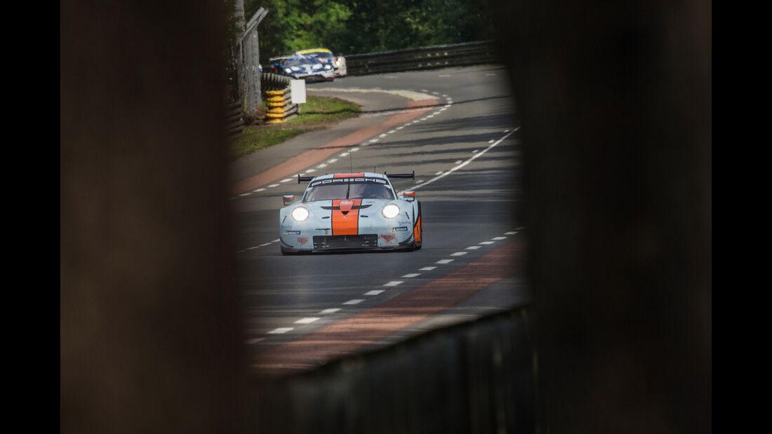 Porsche 911 RSR - 24h-Rennen Le Mans 2018 - Samstag - 16.6.2018